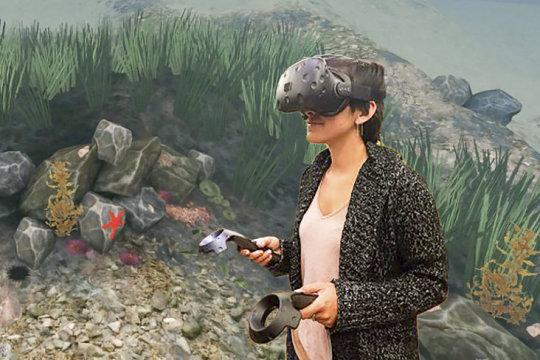 虚拟现实可以作为强大的环境教育工具