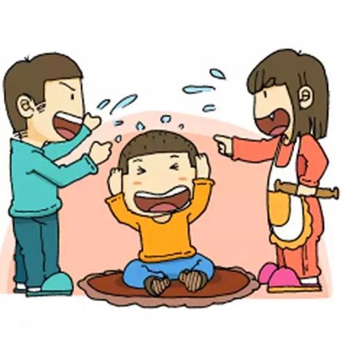 父母的冲突会对孩子造成持久的伤害
