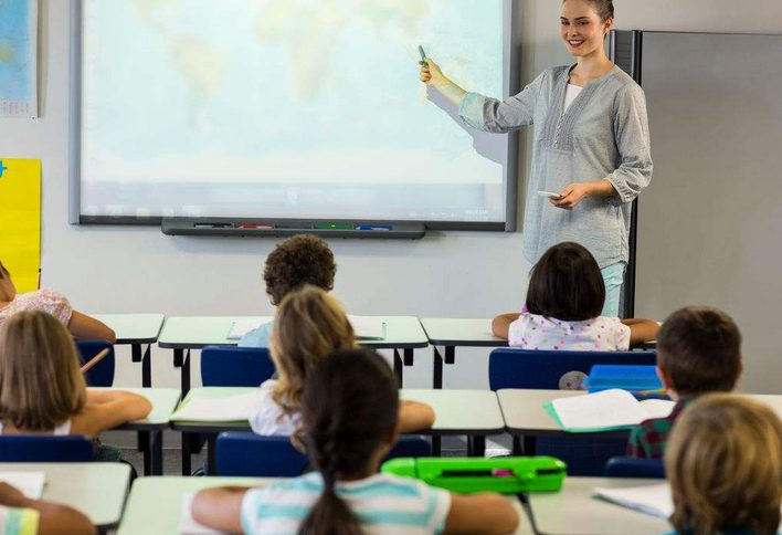教学不是出于任何崇高的原因