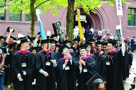 大多数学生毕业后经常处于两难境地