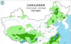 长江中下游将进入高温少雨模式