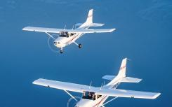ATP飞行学校接收了八架新型塞斯纳172天鹰式活塞