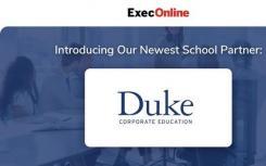ExecOnline与Duke Corporate Education合作 启动工作场所健康在线计划