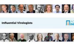 AcademicInfluence排名当今世界上最有影响力的病毒学家
