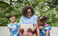 通过女童子军的虚拟活动系列为幼稚园做准备