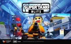 正式推出休闲移动沙盒游戏Super Tank Blitz