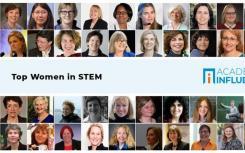 AcademicInfluence宣布STEM前40名女性