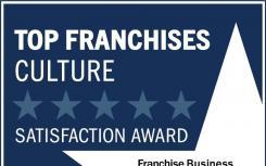 在FBR文化100奖中被评为最佳特许经营文化