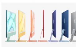 苹果超薄的新iMac拥有M1芯片并提供七种颜色