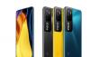 POCOM3Pro5G智能手机的电池容量快速充电和相机确认