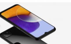三星GalaxyA225G手机配备6.5英寸InfinityV显示屏三后置摄像头表面