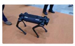 公司Unitree开发了Spot机器人的预算模拟