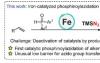 PcFe催化的烯烃自由基膦酰叠氮化反应与快速叠氮基转移步骤