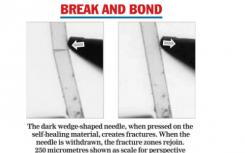 科学家研发出世界上最坚硬的自愈材料可用于未来手机