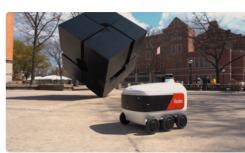 Yandex机器人将在大学校园内送餐