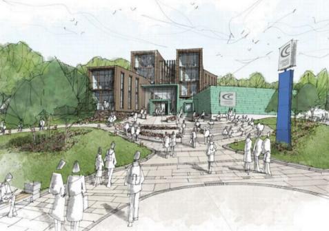 圣奥斯特尔2400万英镑的大学校园项目赢得了资金