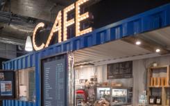 普利茅斯大学开设了在集装箱内创建的咖啡馆